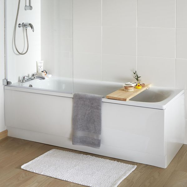 Baths | Shower Baths & Corner Baths | DIY at B&Q