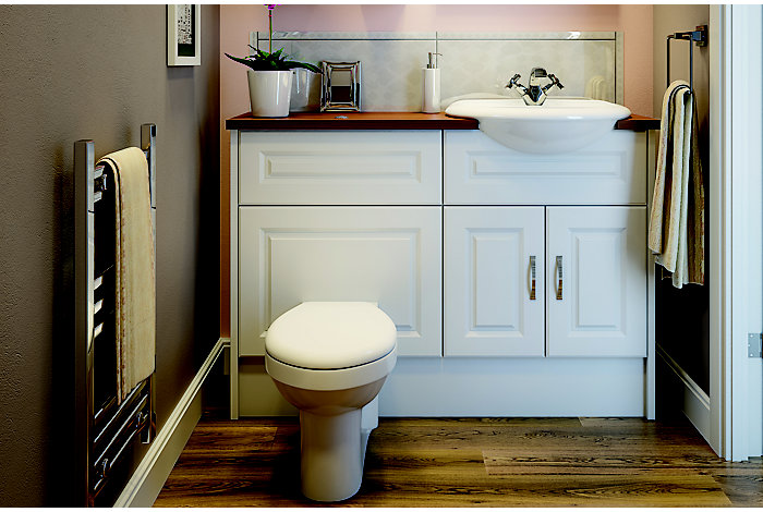 romeo bathroom suites bathroom departments diy at b q On bathroom designs b q