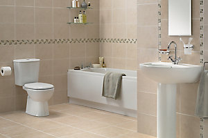 Image of Treviso bathroom suite