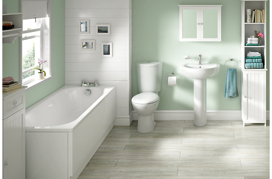 B And Q Bathroom Tile Ideas : Alonso bathroom suites departments diy at b q