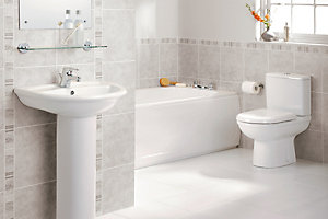 Bathroom Suites Cloakroom Suites Diy At B Amp Q