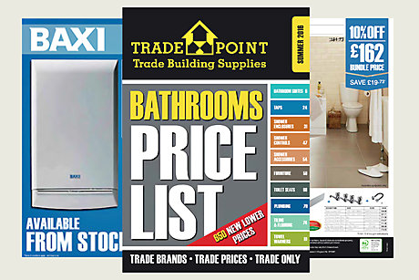 Download our</br>Bathrooms Price List