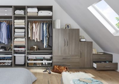 Bespoke Bedroom Furniture Fitted Wardrobes Diy At B Amp Q