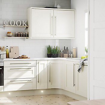 it brookfield textured ivory style shaker kitchen - Scandinavian Kitchen Design