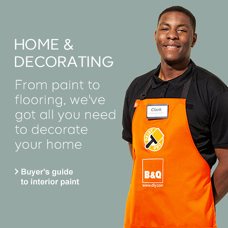 From paint to flooring we've got all you need to decorate your home