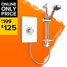image for Triton Collections 9.5kW Electric Shower, White