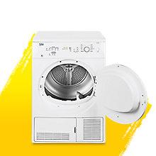 Beko DC7112W White Freestanding Condenser Dryer