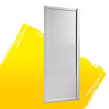 White Sliding Wardrobe Door (H)2220 mm (W)914 mm