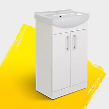 Ardenno Double Basin and Vanity Unit