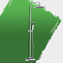 Cascade Rear Fed Mixer Shower