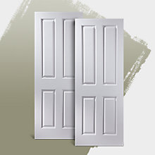 Moulded internal doors