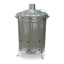 Image for Galvanised Steel 200L Incinerator deal