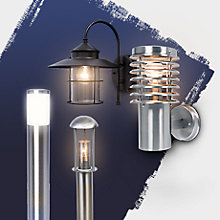 Free delivery on outdoor lighting