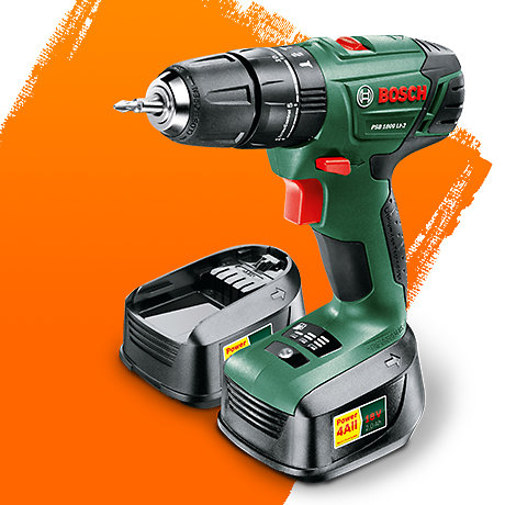 Image for Bosch Cordless 18V 2.0Ah Li-Ion Combi Drill