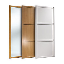 Multi buy on selected Shaker Sliding Wardrobe Doors