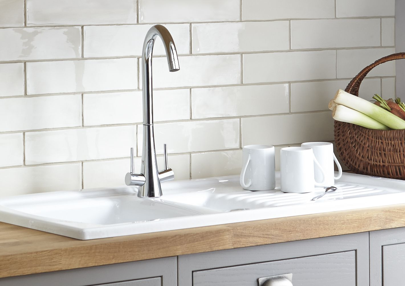 Bathroom Sinks B&Q kitchen taps | pillar & mixer taps | diy at b&q