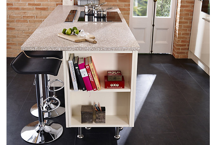 Laminate worktop kitchen island