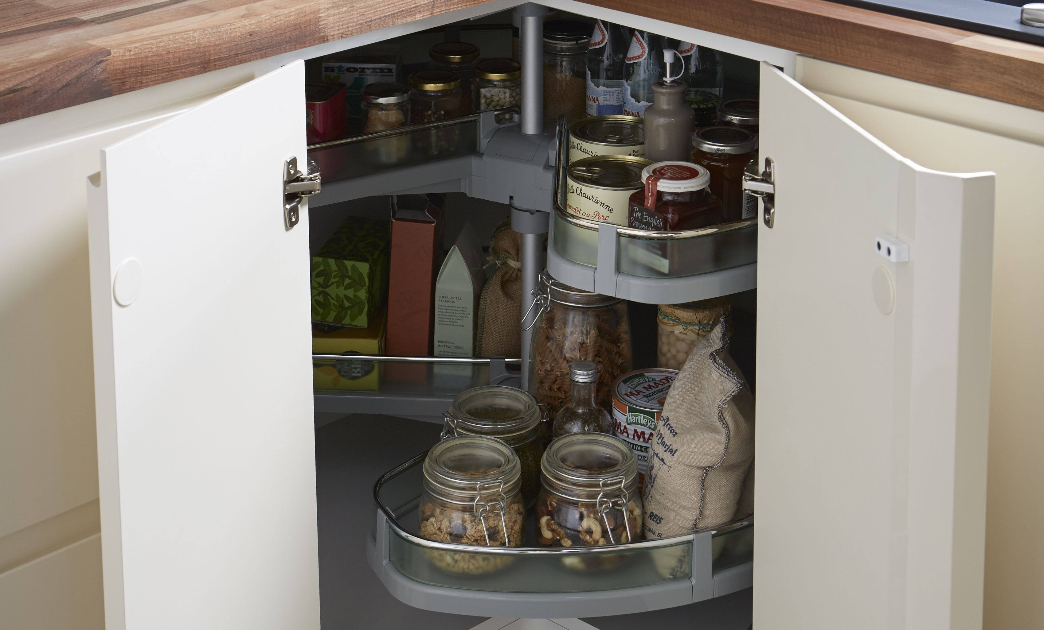 corner kitchen storage units