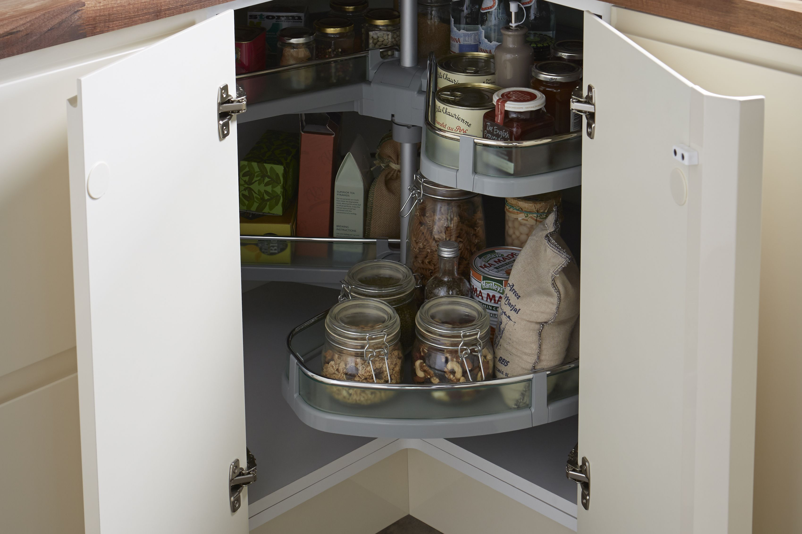 Condensation Behind Kitchen Cupboards