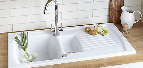 Buyer's guide to kitchen sinks