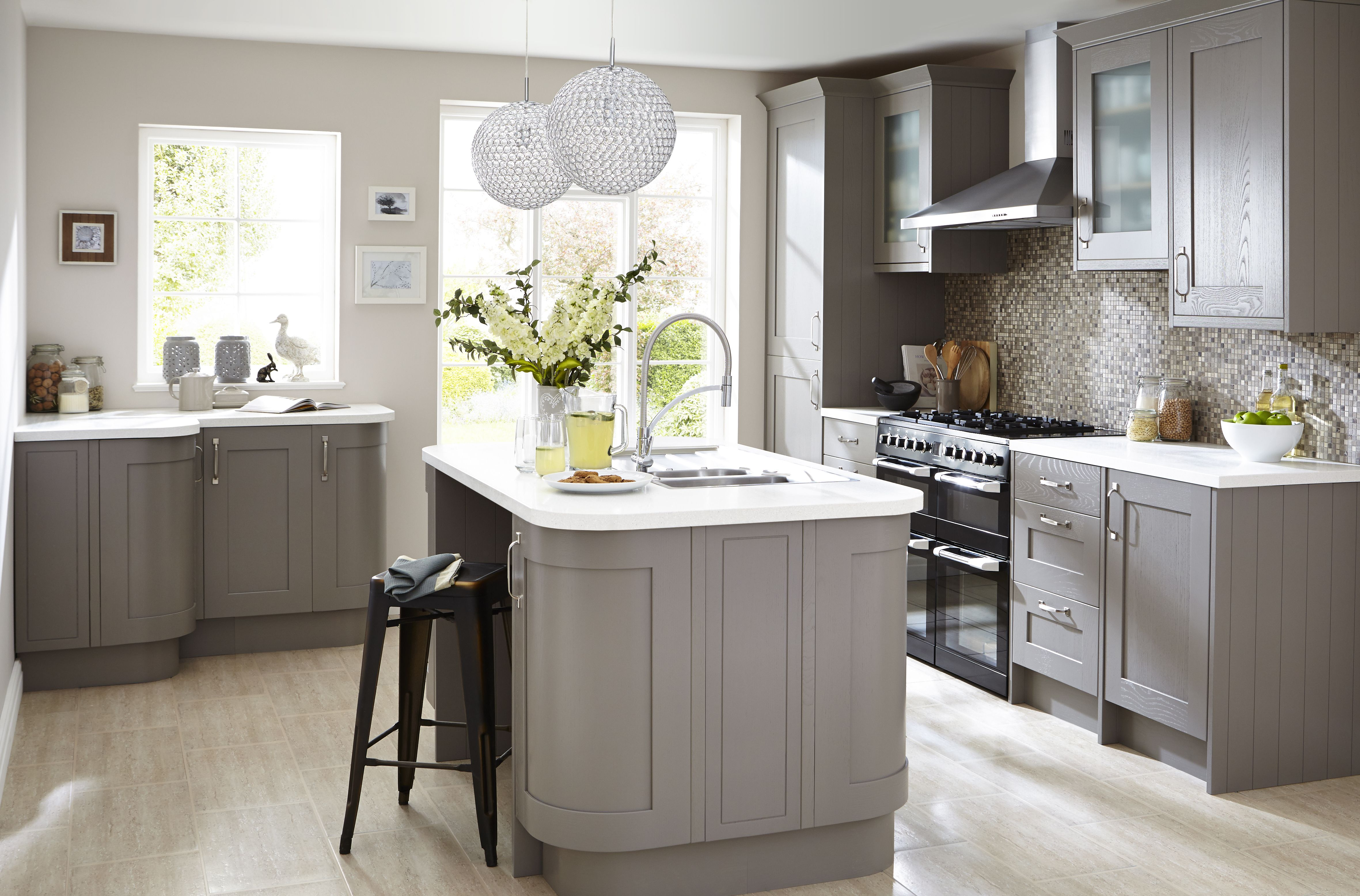 Clearance kitchen cabinets or units - Cooke Amp Lewis Carisbrooke Taupe Diy At B Amp Q