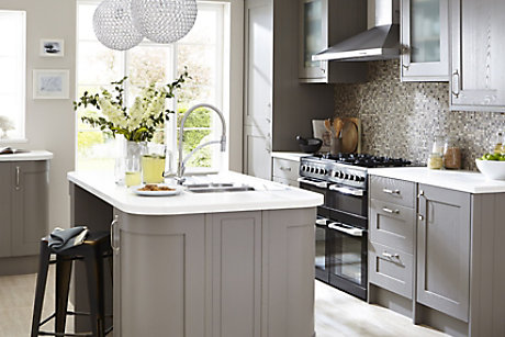 Cooke & Lewis taupe Carisbrooke kitchen