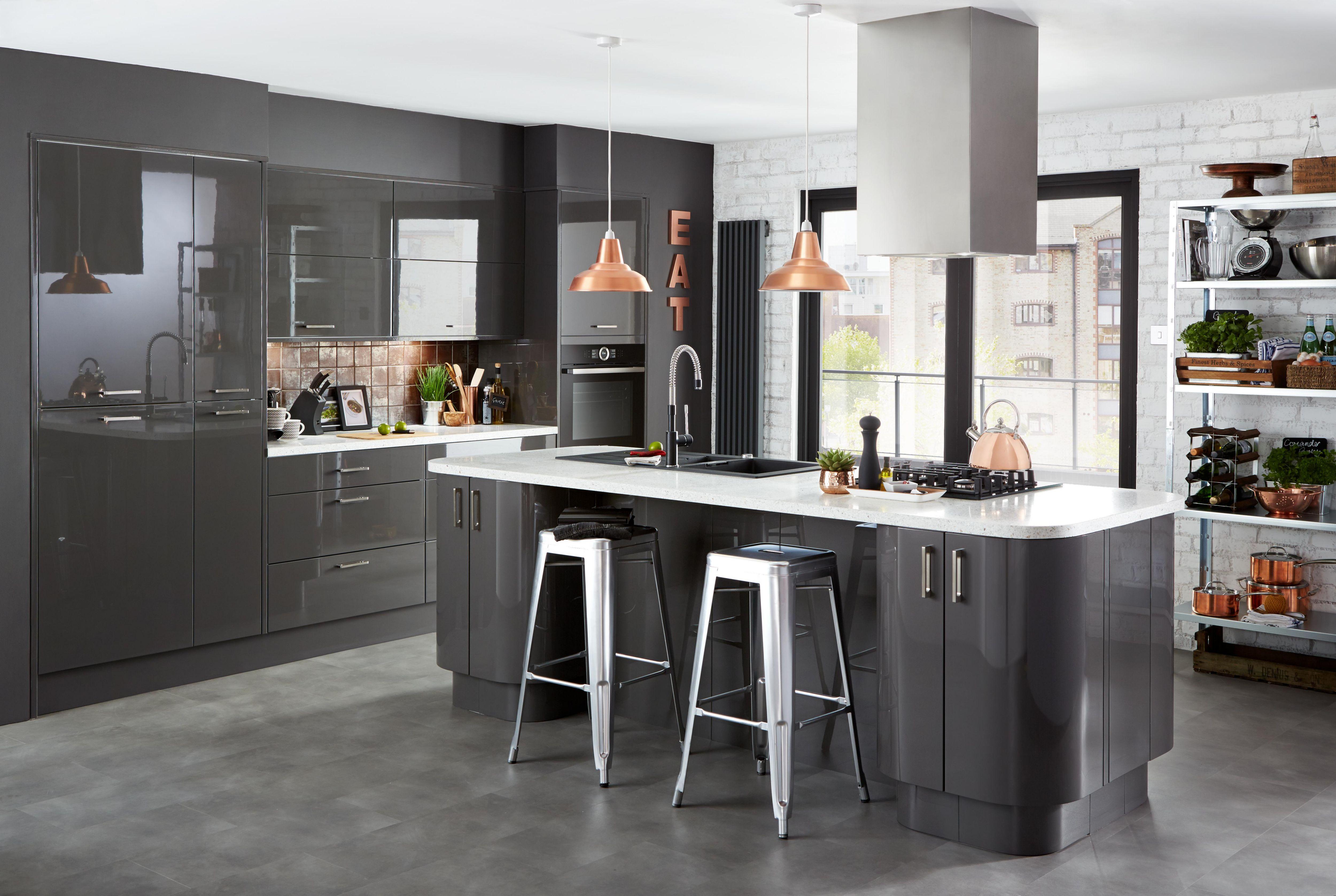 Contemporary kitchen design ideas Help Ideas DIY at BQ