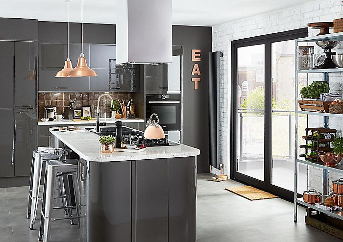 Industrial kitchen design ideas | Help & Ideas | DIY at B&Q