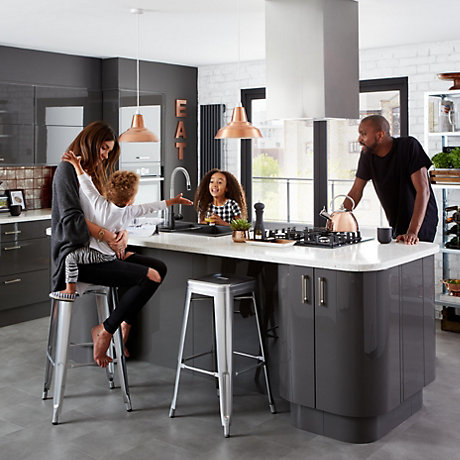 Cooke and Lewis Raffello Anthracite Kitchen