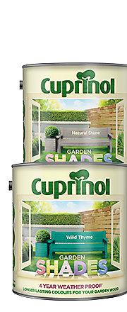 Cuprinol Garden Shades White Daisy Matt Woodstain 2.5L