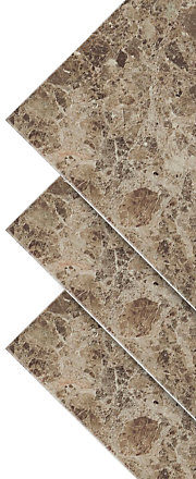 Illusion Marble Effect Ceramic Wall & Floor Tile, Pack of 10, (L)360mm (W)275mm