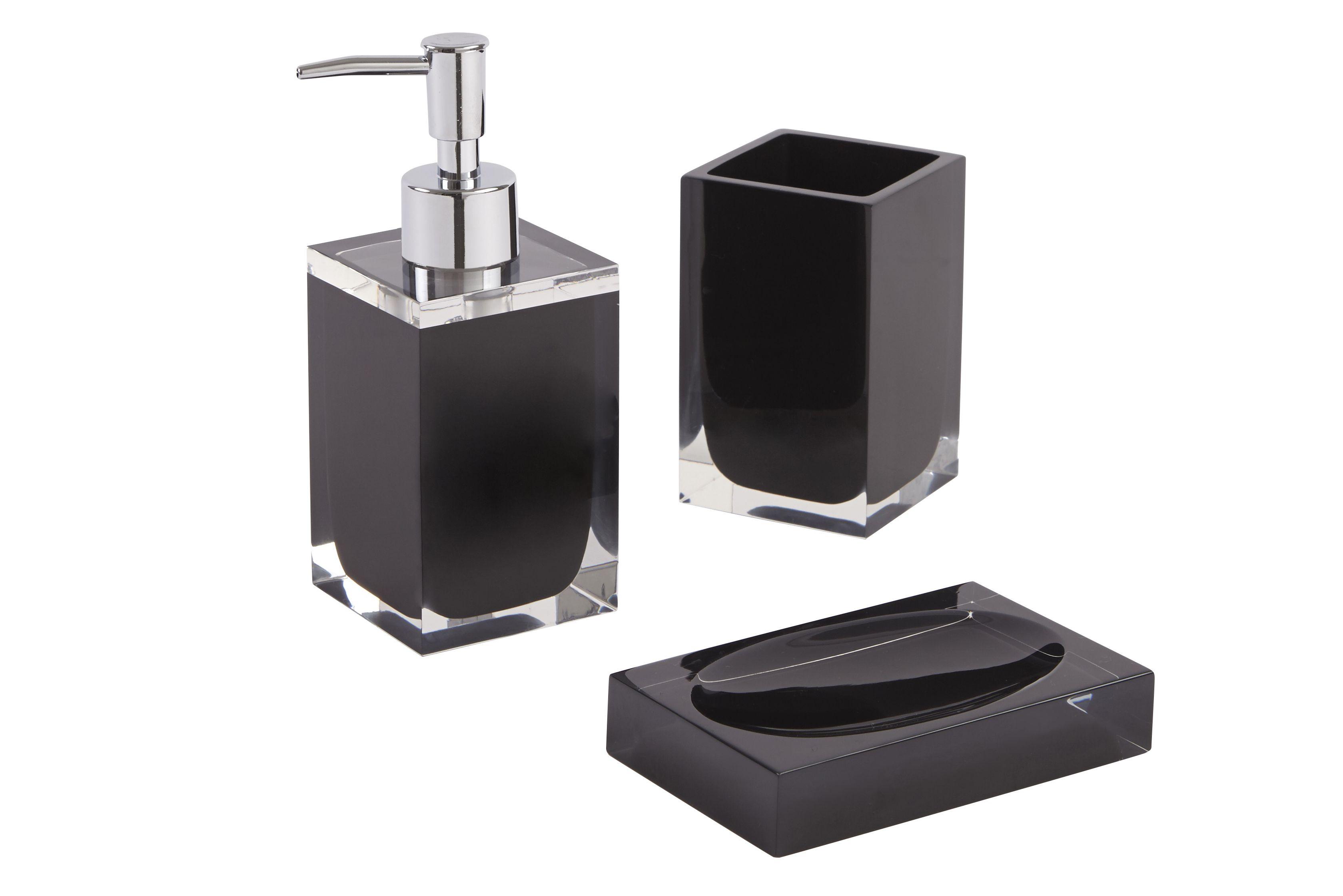 Black Bathroom Accessories Sets   Bathroom Accessory Sets Bathroom Accessories Bathroom
