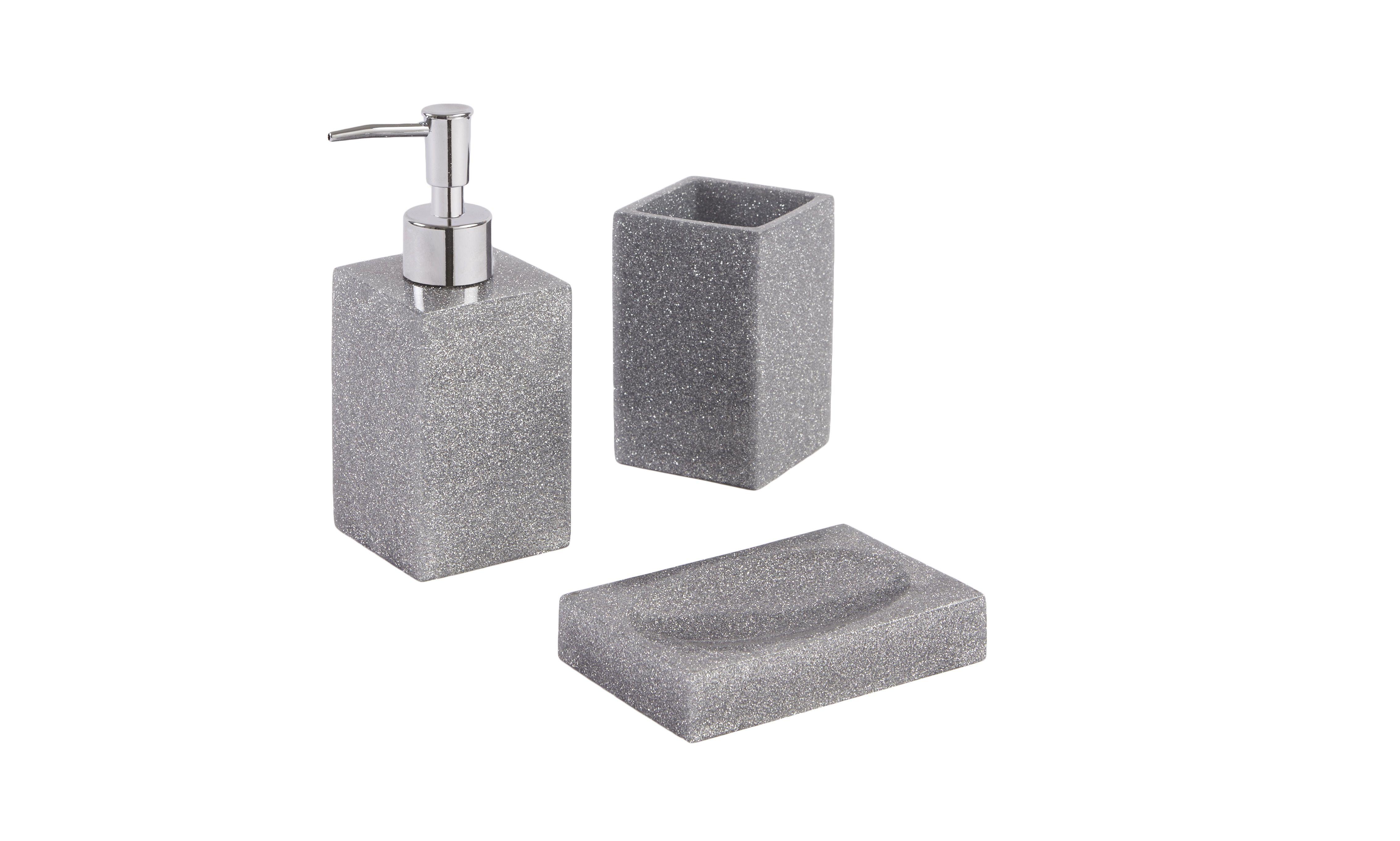 Glitter bathroom accessories - Bathroom Accessory Sets Bathroom Accessories Bathroom Black Glitter Bathroom Accessories