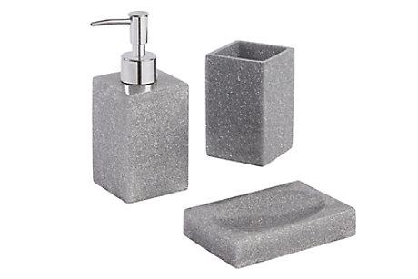 silver glitter bathroom accessories. Capraia Glitter Bathroom Accessories Accessory Sets