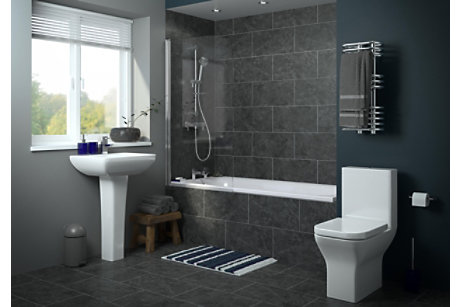 Bathroom Suites   Complete Bathroom Suites   DIY at B&Q