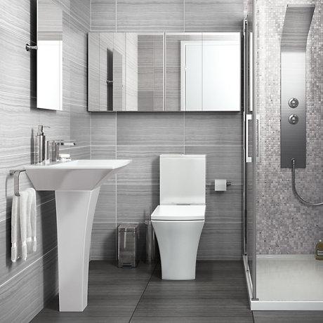 Bathroom Suites   Cloakroom Suites   DIY at B&Q