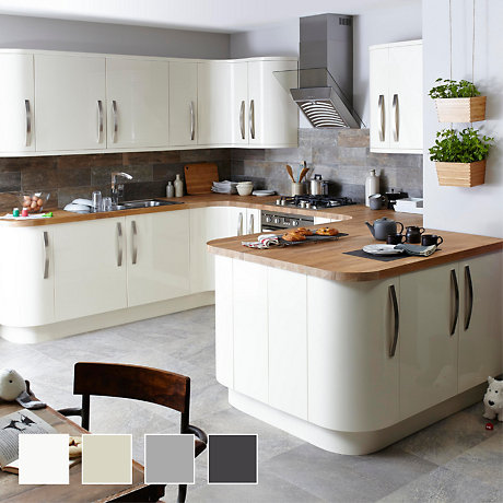 Fitted kitchens traditional bespoke kitchens diy at b q for Perfect kitchen number