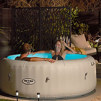 Hot tub in your garden