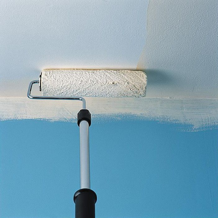painting ceiling white