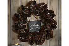 How to personalise a Christmas wreath