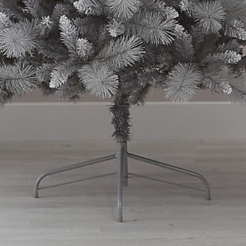 Metal stand of the 6ft Tula Silver Effect Classic Artificial Christmas Tree