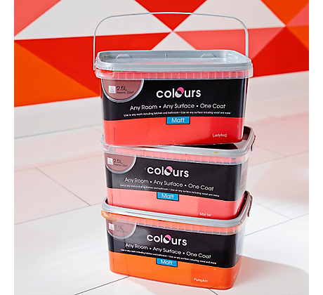 Our Brands Colours DIY At B Q
