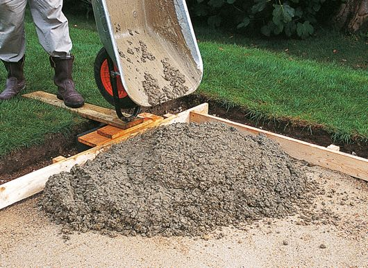 How To Plan A Concrete Path Patio Or Driveway Ideas