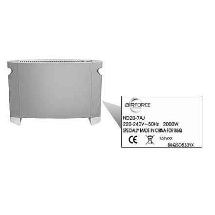 Airforce convector heater image