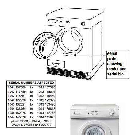 White Knight Condenser Tumble Dryer image