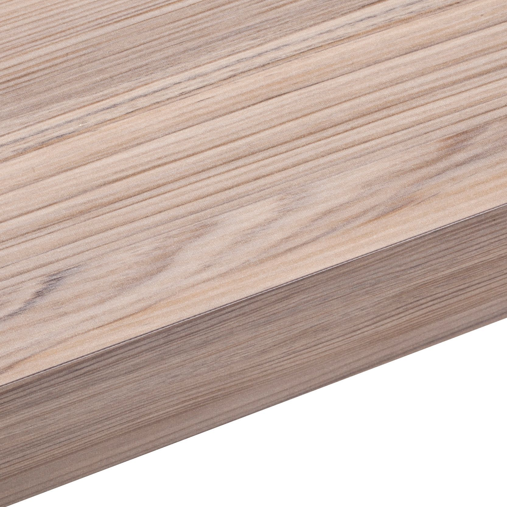 50mm Cypress Cinnamon Laminate Wood Effect Square Edge