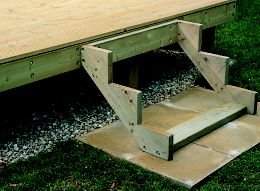 How to add steps and rails to your decking help amp ideas diy at b amp q