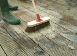 How to clean paint care for decking ideas advice for B and q timber decking