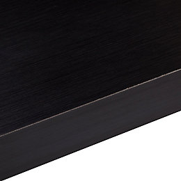 50mm B&Q Designer Black (Aeon) Square Edge Kitchen