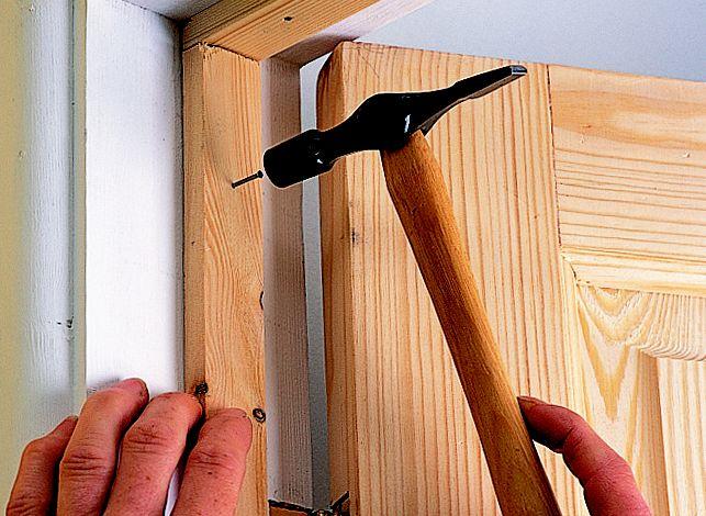 Step 2 & How to hang an internal door | Ideas u0026 Advice | DIY at Bu0026Q pezcame.com